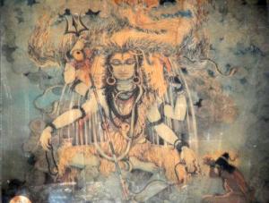 Shiva from Shailendra temple