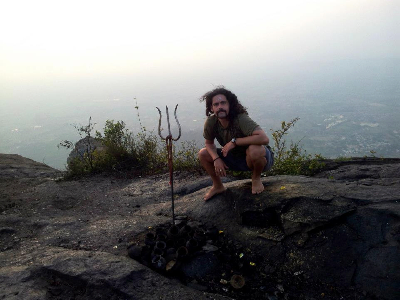 top of Arunachala