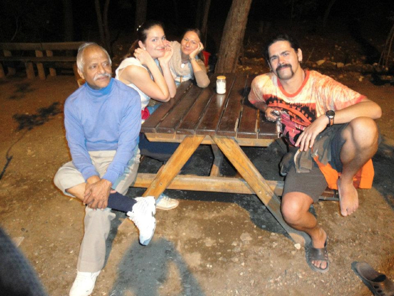 with Bal Mukund Singh