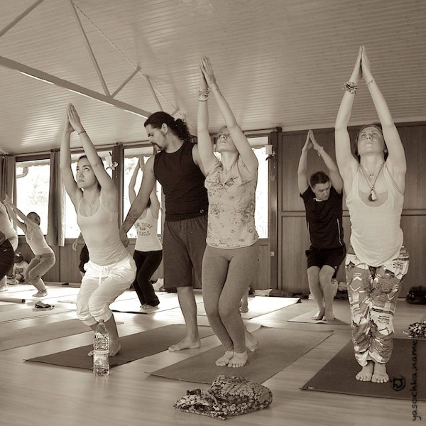 class on Yoga-Rainbow Festival