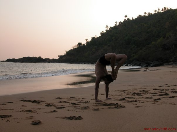 Gokarna, Half moon beach 2003