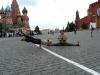 with Simon Borg-Olivier near Kremlin, Moscow