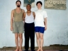 with Bal Mukund Singh and Olga Bulanova, Delhi 2001