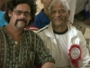 with Bal Mukund Singh, Pondicherry Yoga-asana competition