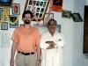 with BNS Iyengar, Mysore 2001