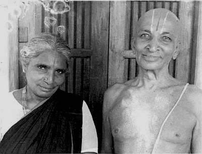 Кришнамачарья с супругой Намагириаммой
